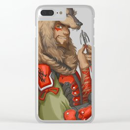 Outfit Swap (McCree) Clear iPhone Case