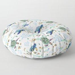 Turtles Floor Pillow