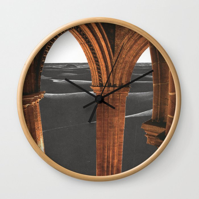 Desert Cathedral Wall Clock
