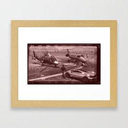 New But Old School GTA Framed Art Print