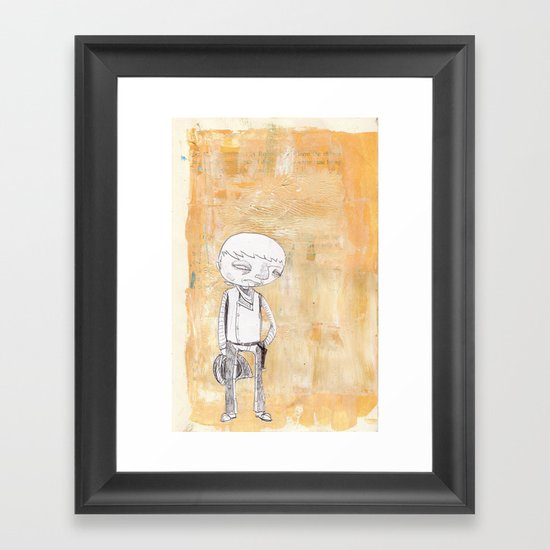 SHOWDOWN Framed Art Print