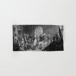 Washington Meeting His Generals Hand & Bath Towel