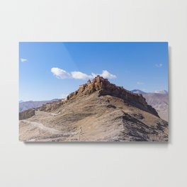 Gyantse Fort - Tibet Metal Print