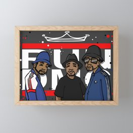 Get Down with the Kings Framed Mini Art Print