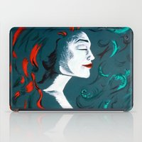 poison ivy iPad Cases featuring Poison Ivy by JezRebelle