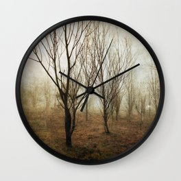 Foggy Campbell Park Wall Clock