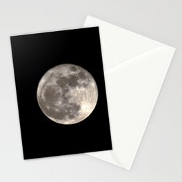 Can you see the man in the Moon smiling at us? Stationery Cards
