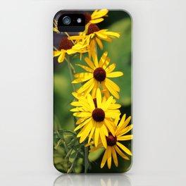 Black Eyed Beauties iPhone Case