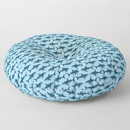 Pattern: Great White Shark  ~ Light Blue ~ (Copyright 2015) Floor Pillow