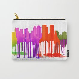 Tampa, Florida Skyline - Puddles Carry-All Pouch