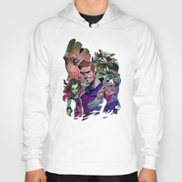 guardians of the galaxy Hoodies featuring Guardians of the Galaxy by Max Grecke