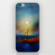 A beautiful Christmas - HOLIDAZE iPhone Skin