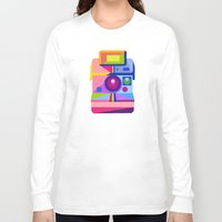 polaroid Long Sleeve T-shirts featuring Polaroid by MaNia Creations