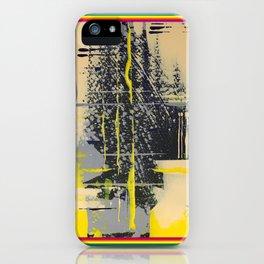 Sunday Morning - colour frame iPhone Case