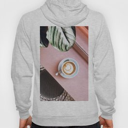 pink latte Hoody