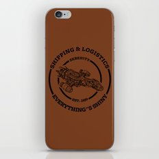 SERENITY SHIPPING AND LOGISTICS iPhone & iPod Skin