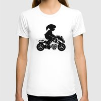 mario kart T-shirts featuring Mario Kart 8 - Master Cycle Silhouette by brit eddy