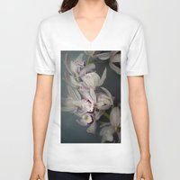 orchid V-neck T-shirts featuring Orchid by Pure Nature Photos