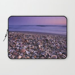 The Beach Of The Shells Laptop Sleeve