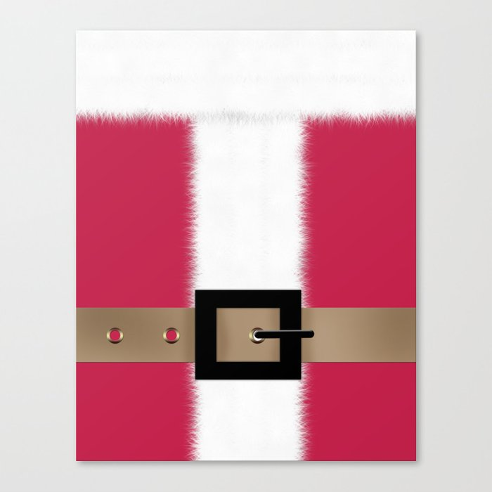 Christmas , Santa Claus , red Canvas Print