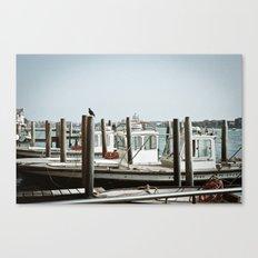 VENICE VII - WHARF II Canvas Print