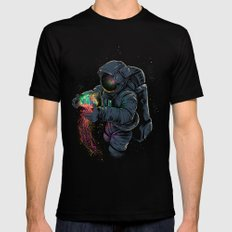 Jellyspace Mens Fitted Tee MEDIUM Black