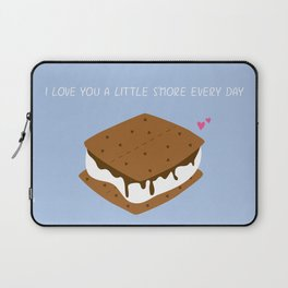 A LITTLE S'MORE EVERY DAY Laptop Sleeve