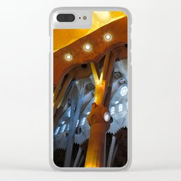 Sagrada Familia 2 Clear iPhone Case
