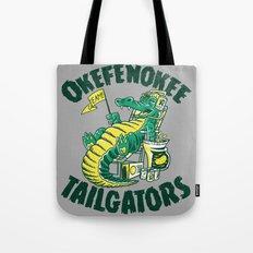 Tailgators Tote Bag