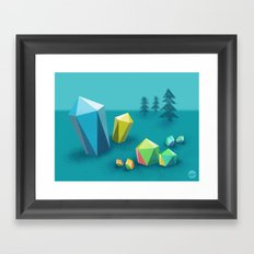 The Quarry Framed Art Print