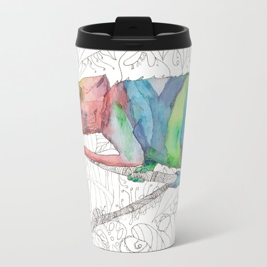 Chameleon Fail Metal Travel Mug