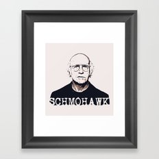 Schmohawk  |  Larry David   Framed Art Print
