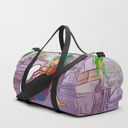Purple Blazed, Smoking Lady Series Duffle Bag