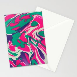 Cotton Candy Swirls Stationery Cards