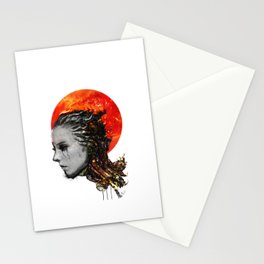 just a ghost in the shell Stationery Cards