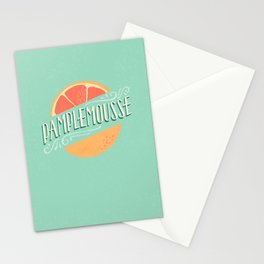 Pamplemousse (Grapefruit) Stationery Cards