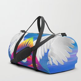 Third Eye with Wings Duffle Bag