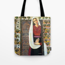 Vision by Nabil Anani Tote Bag