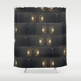 Analog Memory Shower Curtain