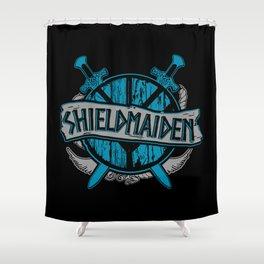 shieldmaiden #3 Shower Curtain