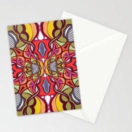 C13D Pattern Construct Stationery Cards