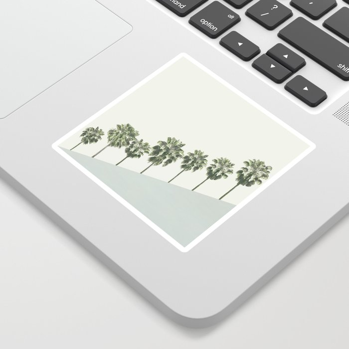 Palm Trees 4 Sticker