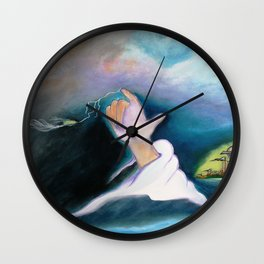 A BULLET MET BY GOD ...special edition Wall Clock
