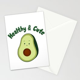 Healthy & Cute Stationery Cards