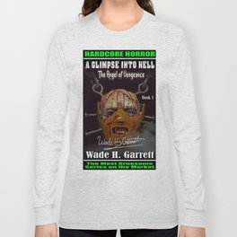 """""""The Angel of Vengeance"""" book cover art with signature Long Sleeve T-shirt"""