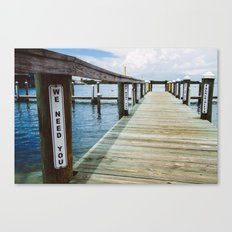 We Want You Canvas Print