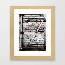 On the wagon Framed Art Print