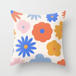 Bloom Bouquet Throw Pillow