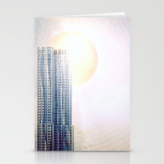 New York by Gehry Illustration Stationery Cards