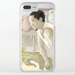 Heart of the Father Clear iPhone Case